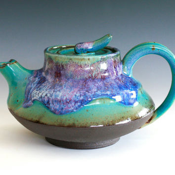 Kawa, River Teapot, Handmade Ceramic Teapot, ceramics and pottery