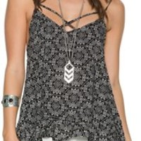 SWELL X MARKS THE SPOT PRINTED TANK