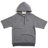 Tech Shortsleeve Hoody Dark Grey