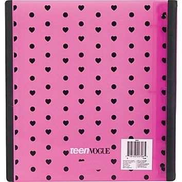 1.5 Staples® Teen Vogue Better® Binder with D-Rings, Assorted Patterns