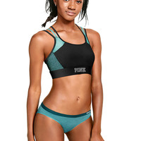 Ultimate Pocket Strappy Sports Bra - PINK - Victoria's Secret