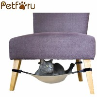 Petforu cat hammock Warm Soft Hanging Bed Cat Mat Kitten bed Pad Pet Cat Bed for Small