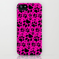 Puppy Paws Pattern iPhone & iPod Case by Silvio Ledbetter
