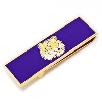 LSU Tiger Head Money Clip | - Men's Jewelry - Jewelry & Gifts