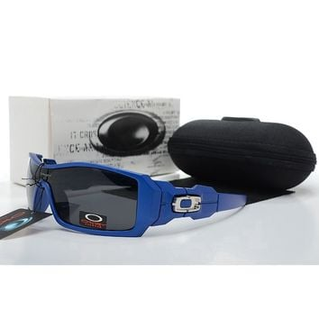 Summer AUthentic Oakley SunglassesEyeglass Blue Black Eyewear