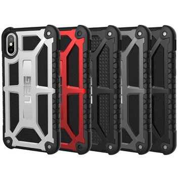 Urban Armor Gear (UAG) Apple iPhone X Monarch Military Spec Case - Rugged Cover