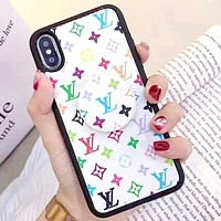 LV & GUCCI & Supreme Tide brand high-end versatile iphone xs mobile phone case cover #3