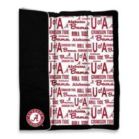 University of Alabama Indoor/Outdoor Throw Blanket