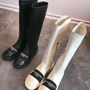 Givenchy Paris Leather Boots