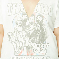 Plus Size The Who Band Tee