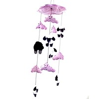 Counting Sheep Baby Mobile - Pink