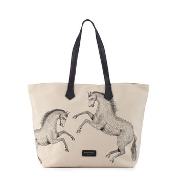 Mr Wilde Shopper   Natural Canvas   Deadly Ponies   Deadly Ponies