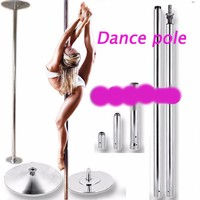 360 Spin Professional Exercise Workout Dance Pole Removable
