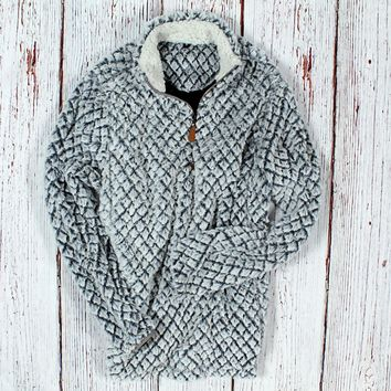 Helsinki Plush Pullover by Nordic Fleece