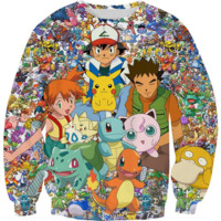 Pokemon Team Crewneck