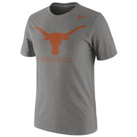 Nike Texas Longhorns 2014 Football Practice Legend Dri-FIT Performance T-Shirt - Gray