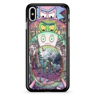 Rick And Morty 2 iPhone X Case