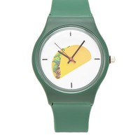 Taco Graphic Analog Watch
