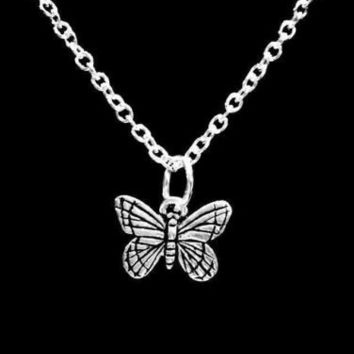 Monarch Butterfly Charm Gift Animal Insect Daughter Gift Necklace
