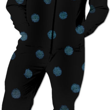 suitcase polka dot Onesuit