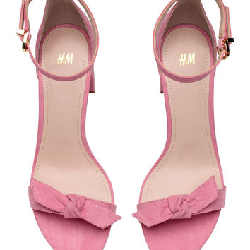 Sandals - Light pink - Ladies | H&M GB