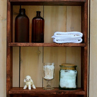 Hanging Shelf - Kitchen - Bath - Spice Rack - Paris Apartment - Shabby - Cottage Chic - Storage Shelves