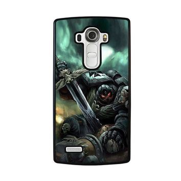 warhammer black templar lg g4 case cover  number 1