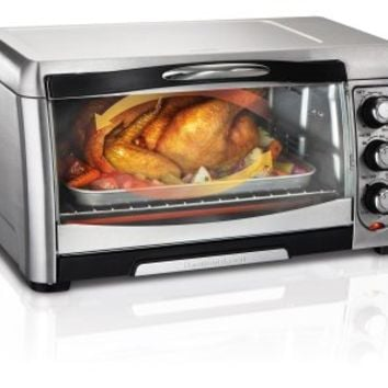 Hamilton Beach 31333 Convection Toaster Oven, Stainless Steel