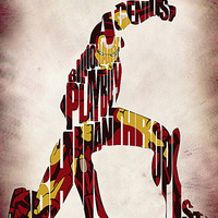 Iron Man Inspired Poster The Avengers Print