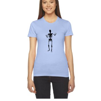 Scary human skeleton design  - Women's Tee
