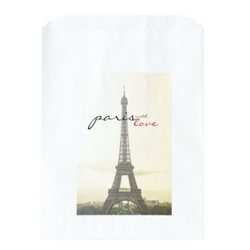 Paris with Love Favor Bags