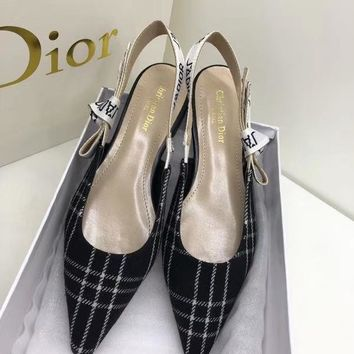 Dior J'ADIO Ribbon Sandals