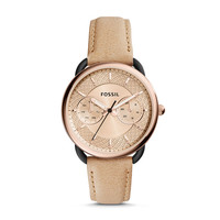 Tailor Multifunction Sand Leather Watch