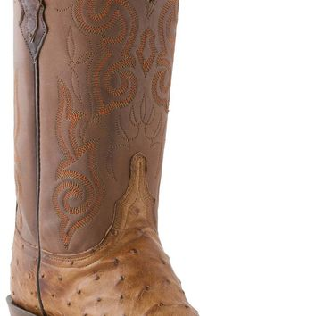 Lucchese Heritage Womens Barnwood Pin Ostrich N4062