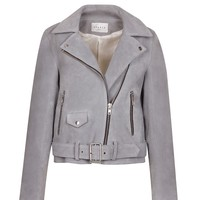Sandro Vacances soft biker jacket at Sandro US