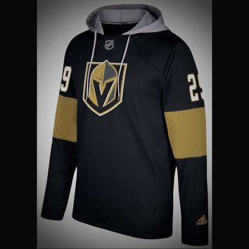 Vegas Golden Knights Adidas NHL Hockey Jersey Style Hoodie
