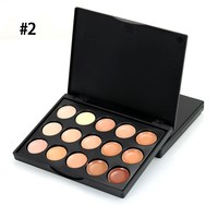 1pcs 10*8*1CM Pro Eyeshadow Palette Silky Powder Professional Nature Make up Pallete Smoky Warm  Shining Eye Shadow