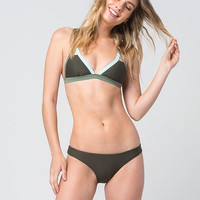 DAMSEL Contrast Triangle Bikini Top | Tops
