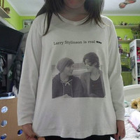 Larry Stylinson support shirt by LarryShippers on Etsy