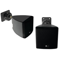 PURE ACOUSTICS HT770 BL Mini Cube Speaker +Wall Bracket (Black)