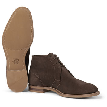 Edward Green - Shanklin Suede Chukka Boots | MR PORTER