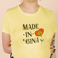 Made In Gina Tee