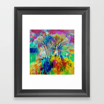 Colorful Spring 2017 Framed Art Print by Algirdas Lukas