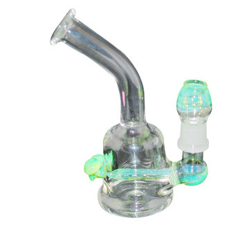 18mm Slime Mushroom Rig with Glass Nail and Globe