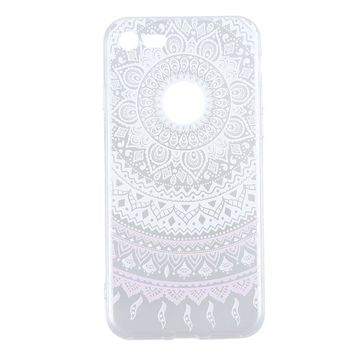 Decorative Pattern Soft Gel Cellphone Case of iPhone 7