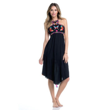 ale by Alessandra Swim Resort Bahia Embroidered Butterfly Dress