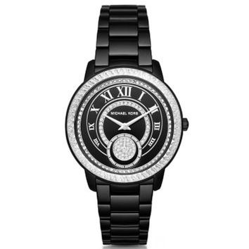 Madelyn Pavé Black-Tone Watch | Michael Kors