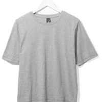 Boxy Jersey Tee by Boutique - Grey