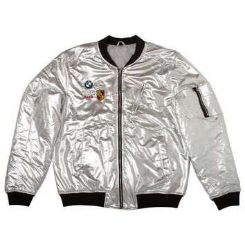 Club Foreign Bomber Jacket Party Edition 'silver' - Beauty Ticks