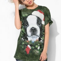 The Mountain Holiday Puppy Tee  - Urban Outfitters